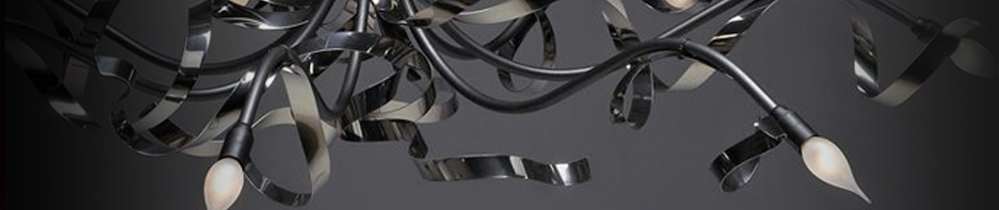 Ruban Plie hanglamp koper Banner Image