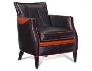 Mulleman meubelen Agora klassieke fauteuil leder