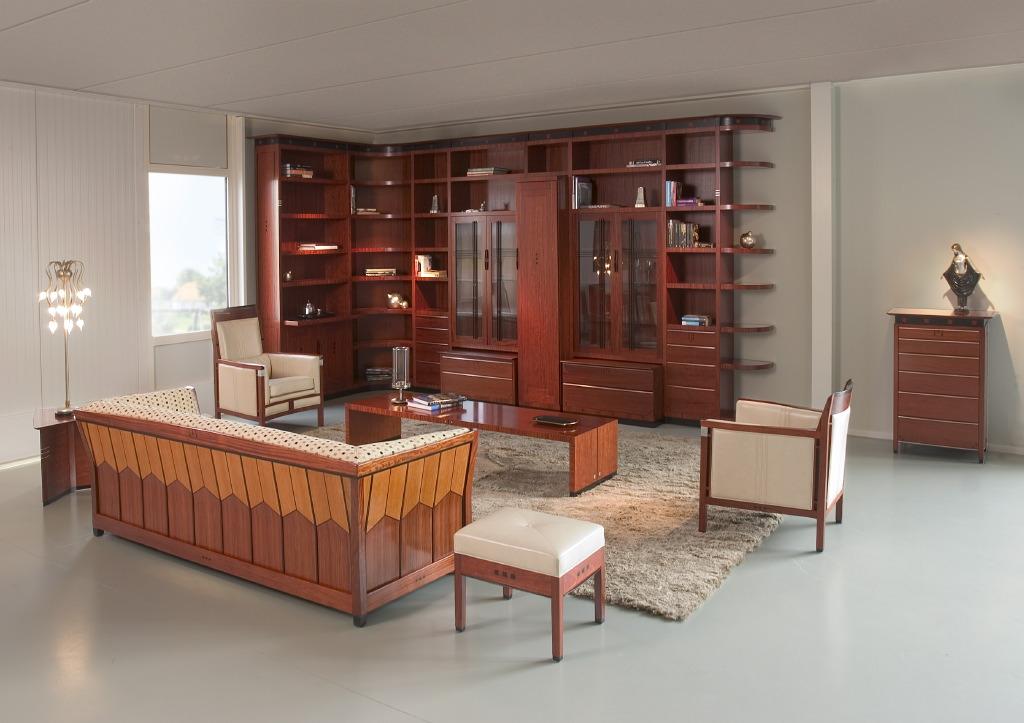 Art deco boekenkast schuitema meubelen wandkasten - Art decoration interieur ...