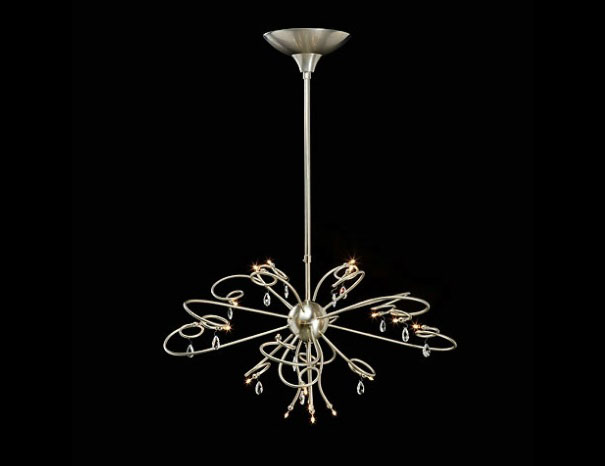 Jupiter kroon hanglamp rond Ben Demmers BD design klassieke ...