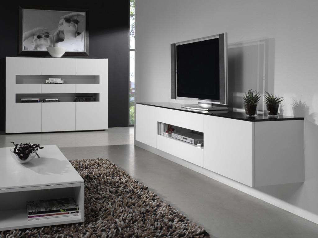Hoogglans meubels voor een moderne sfeer