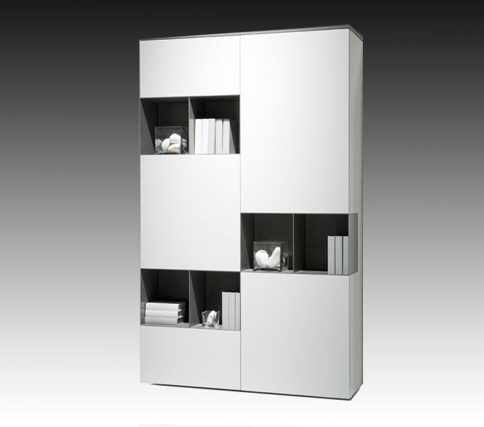 Moderne vakkenkast wit | KARAT Kasten & dressoirs
