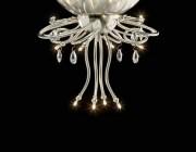 Plafonniere Florence Ben Demmers BD design nikkel klassieke verlichting