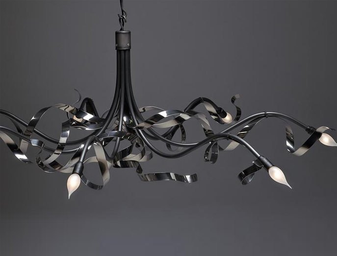 Ruban Plie hanglamp ovaal Jacco Maris