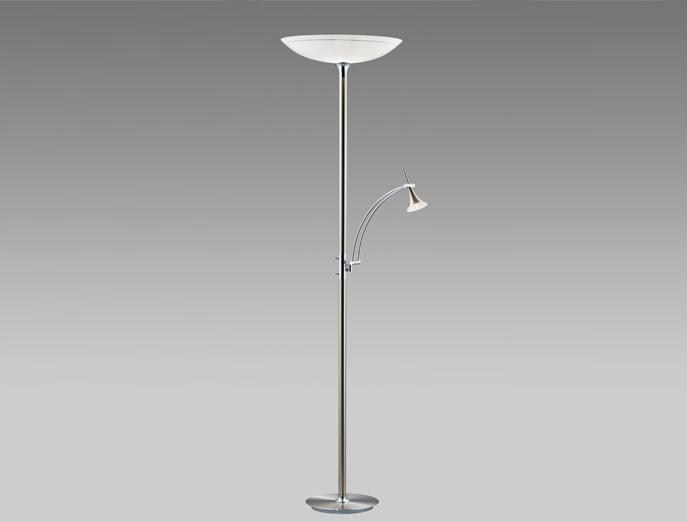 Vloerlamp 82049 nikkel