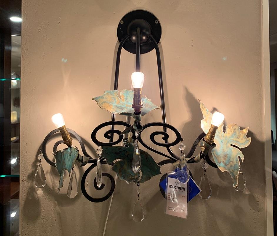 Maroeska Metz Snake wandlamp