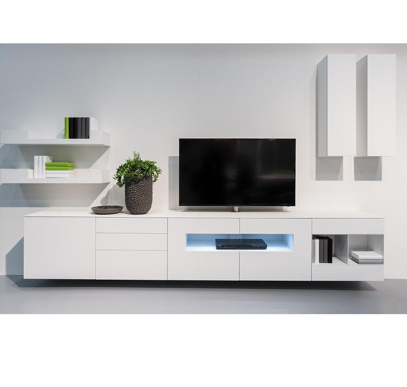 Karat wit modern tv dressoir