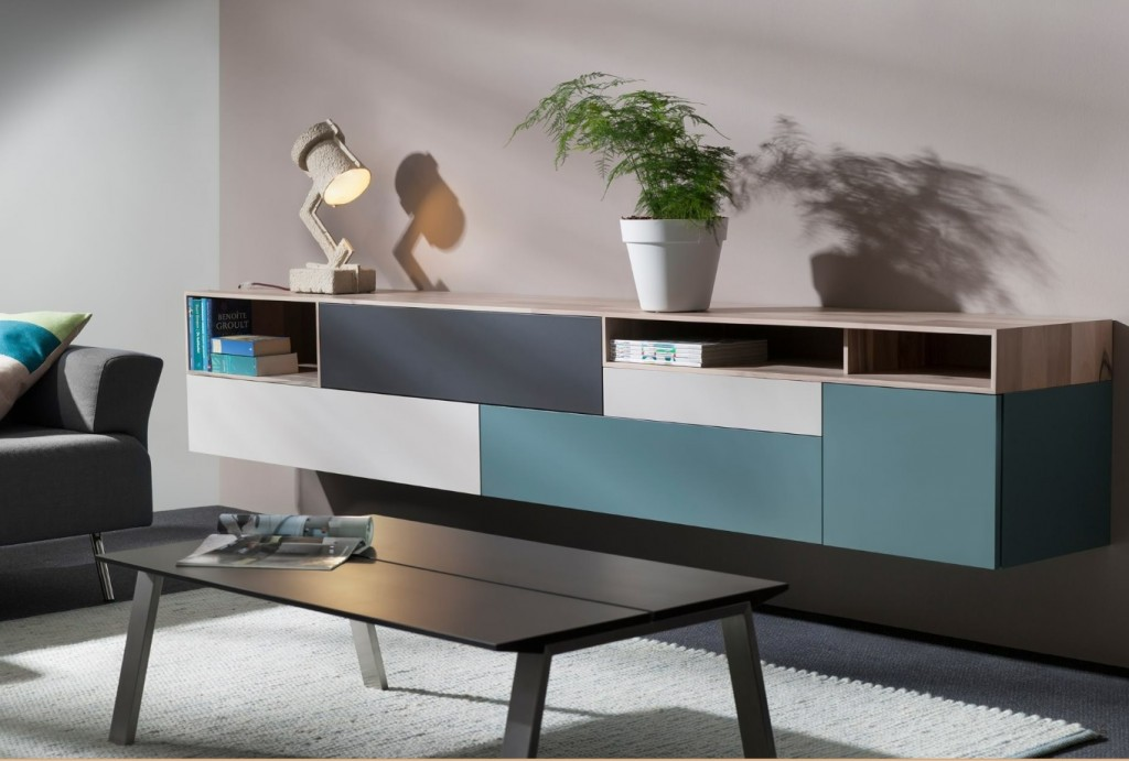 Interstar hangend design dressoir | Interstar meubelen Kasten ...