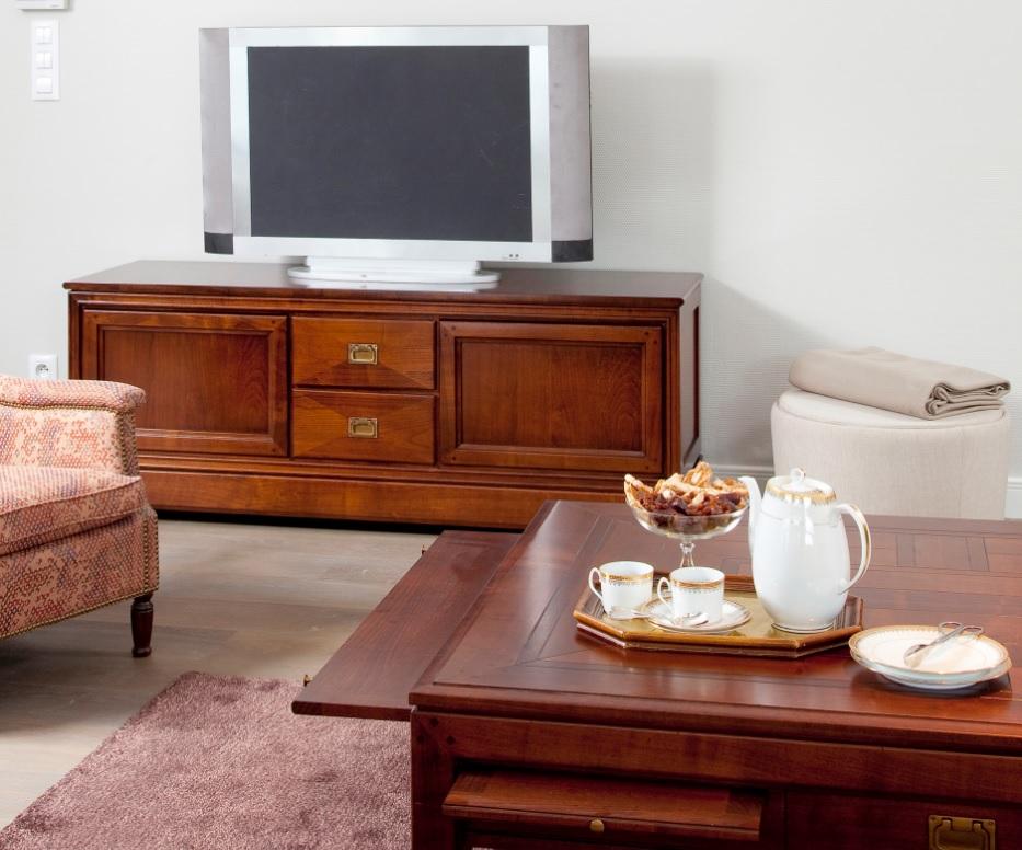DeKoninck Chevalier kersen houten tv meubel