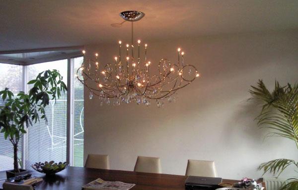 Slaapkamer lampen landelijk kroonluchters landelijke stijl grote design hanglamp - Kroonluchter voor marokkaanse woonkamer ...