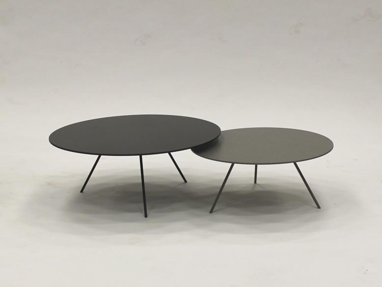 Metaform DP salontafel keramiek rond