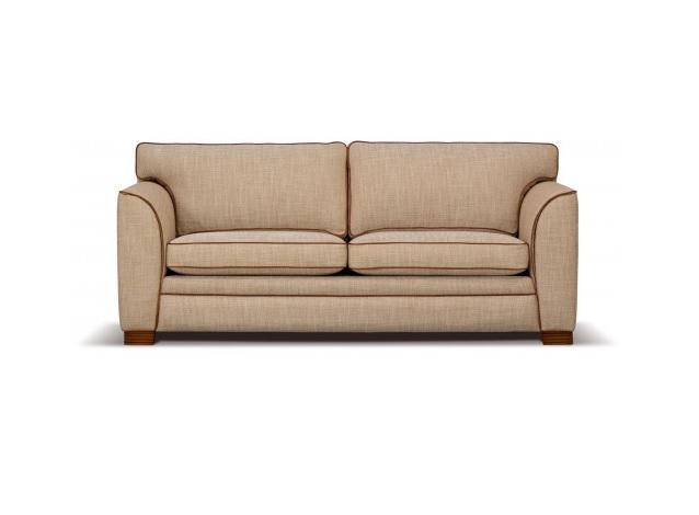 Mulleman meubelen trento klassieke bank stof hoogebeen interieur - Klassieke bank ...
