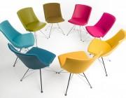 Bert Plantagie stoelen Rho Tendens Kvadrat Steelcut