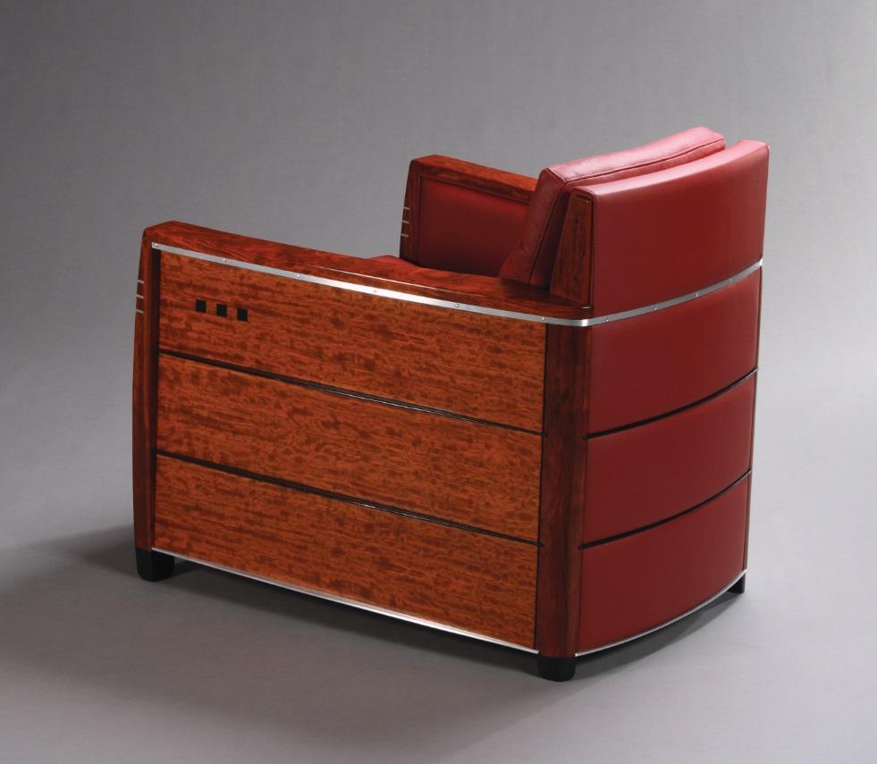 Schuitema Art Deco fauteuil