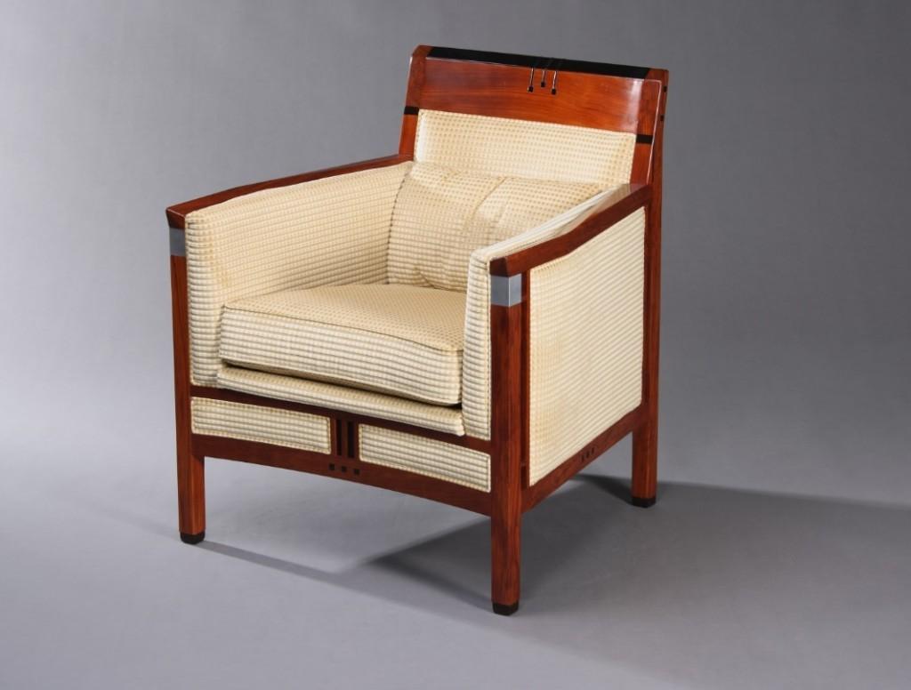 Art Deco Rennie fauteuil Decoforma