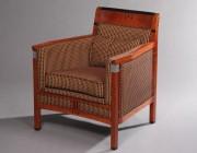 Art Deco fauteuil Rennie