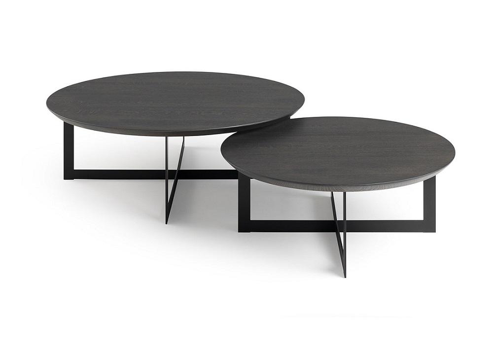 Kluskens ronde salontafel cross kluskens salontafels