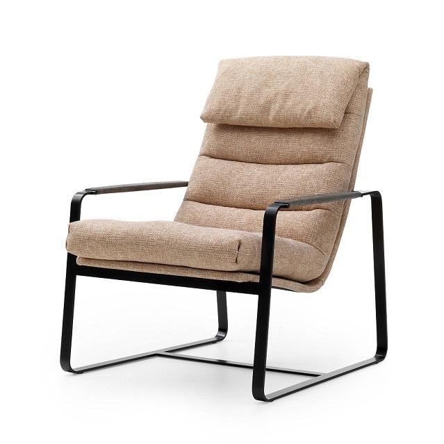 Leolux Indra fauteuil stof