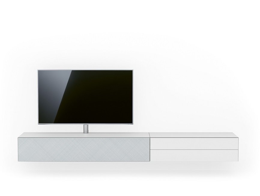 Spectral Scala zwevend tv meubel wit