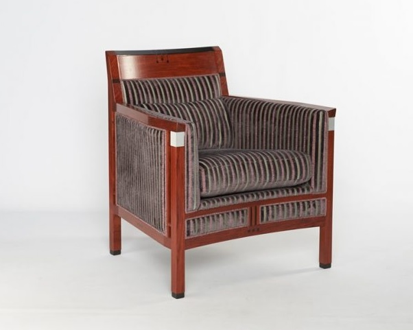 Schuitema Rennie Art Deco fauteuil