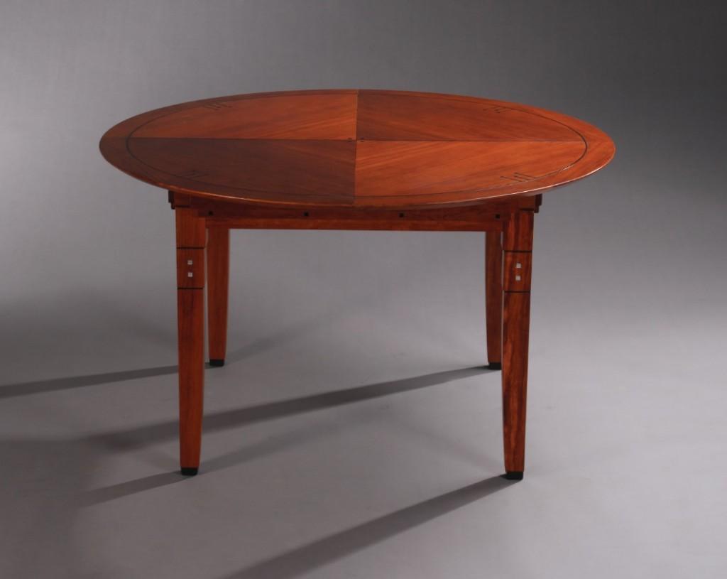 Art deco ronde eettafel craig schuitema meubelen eettafels