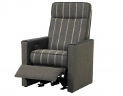 Pizzoli relaxfauteuil stof