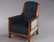 Art Nouveau Jugendstil fauteuil