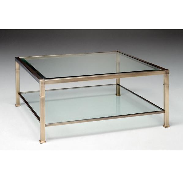 Select design salontafel dundee select design salontafels - Metaal schorsing en glazen ...