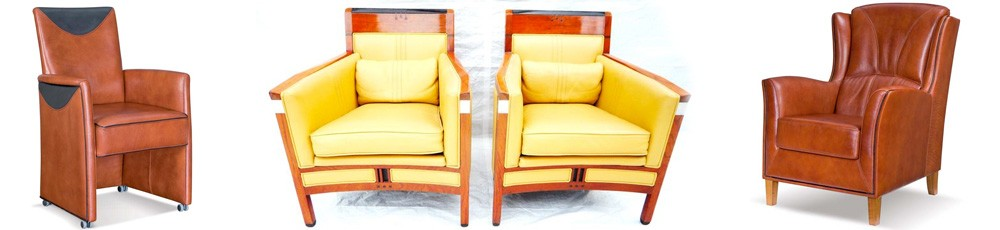 Klassieke fauteuils van hoge kwaliteit