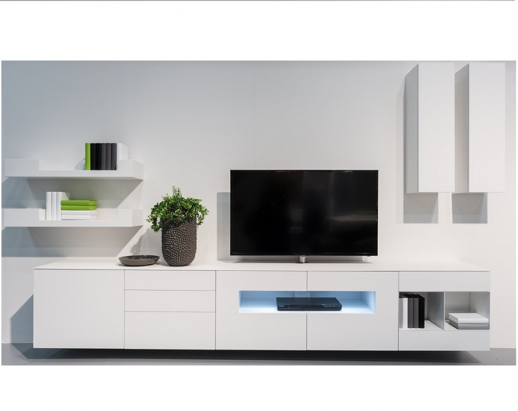 Design Tv Meubel Glas.Karat Wit Hoogglans Tv Meubel Karat Tv Meubels