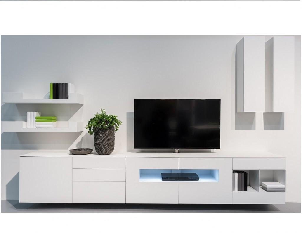 Karat wit hoogglans tv meubel  KARAT Tv-meubels