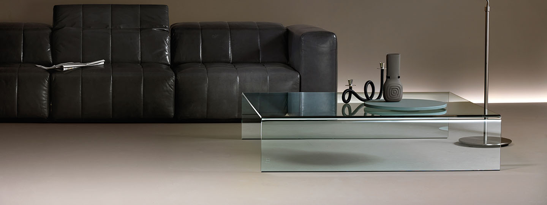 Moderne Glazen Salontafels.Glazen Salontafel 85 Bijzettafels Op Maat Verkrijgbaar