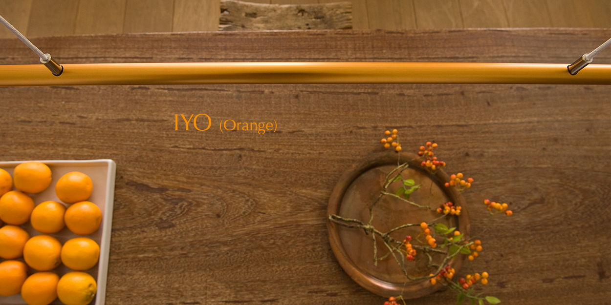 Ferolight IYO Orange design lamp