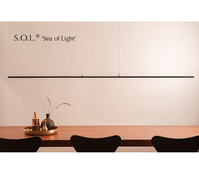 Ferrolight SOL Sea of Light hanglamp
