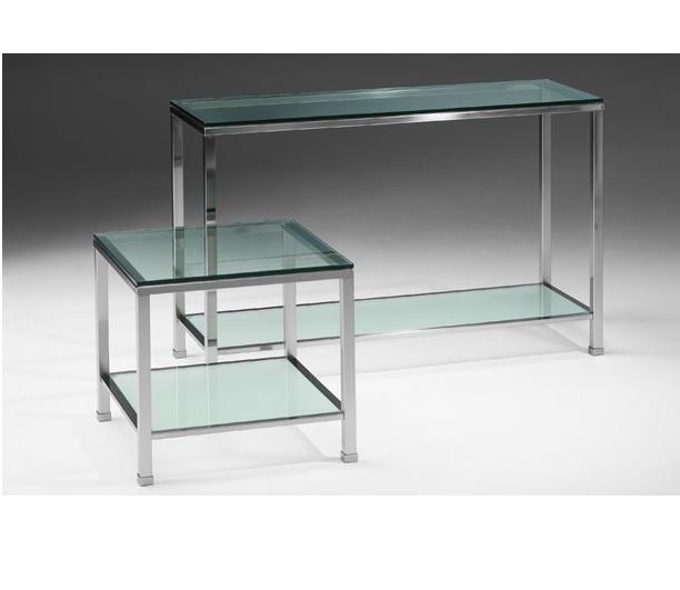 Sidetable Met Glasplaat.Select Design Stockholm Sidetable Select Design Wandtafels