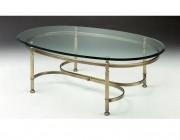 Select Design York ovale salontafel glas