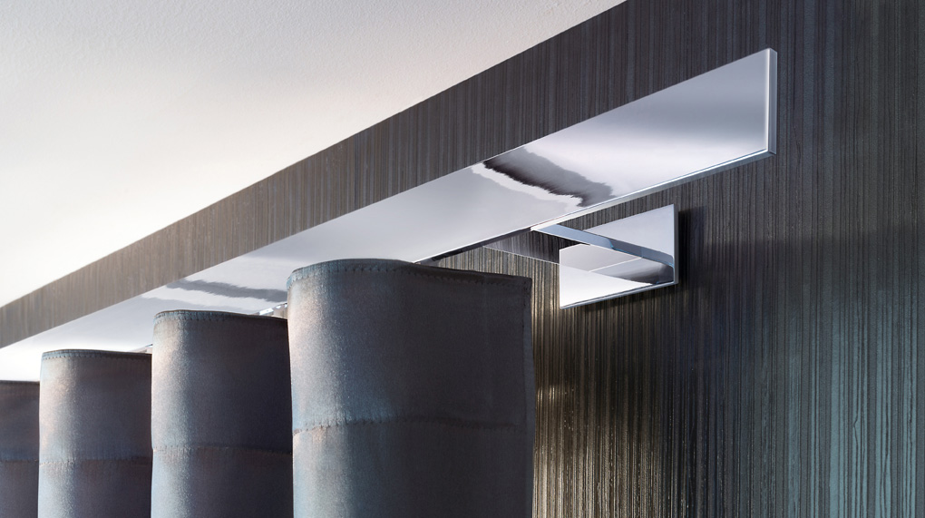 Exclusieve design gordijnrail