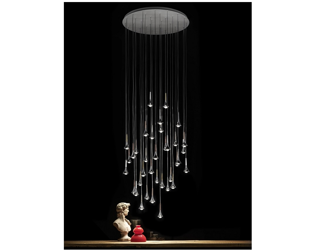 studio italia rain videlamp studio italia design hanglampen. Black Bedroom Furniture Sets. Home Design Ideas