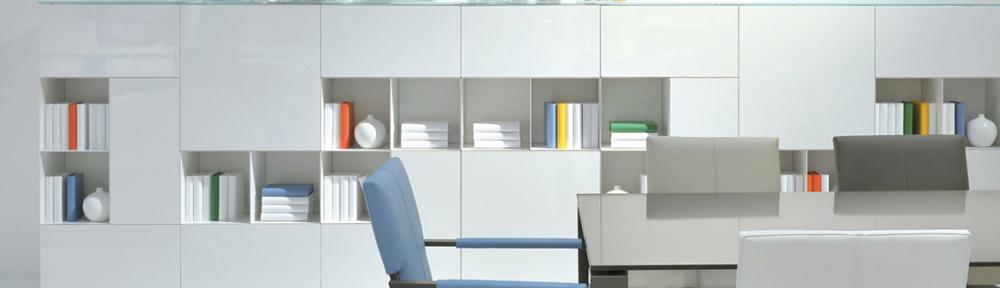 Hoogglans meubelen wit