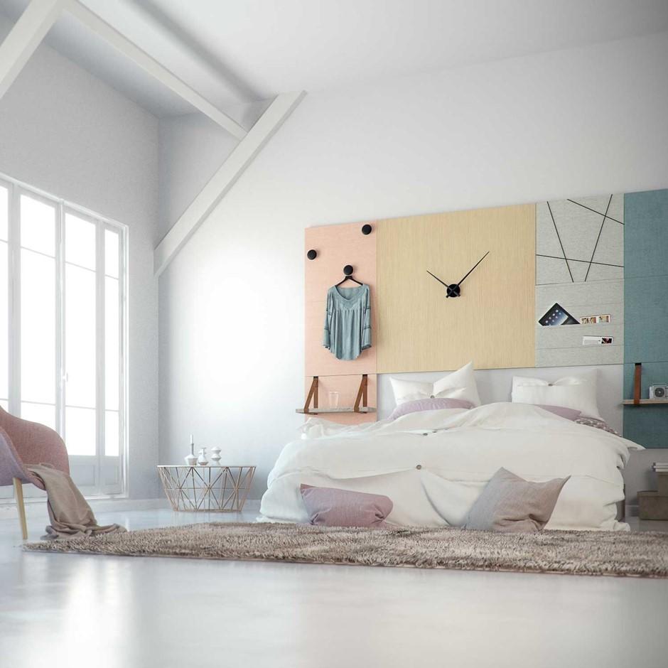 Dock four slaapkamer dock four wanddecoraties - Eigentijdse design slaapkamer ...