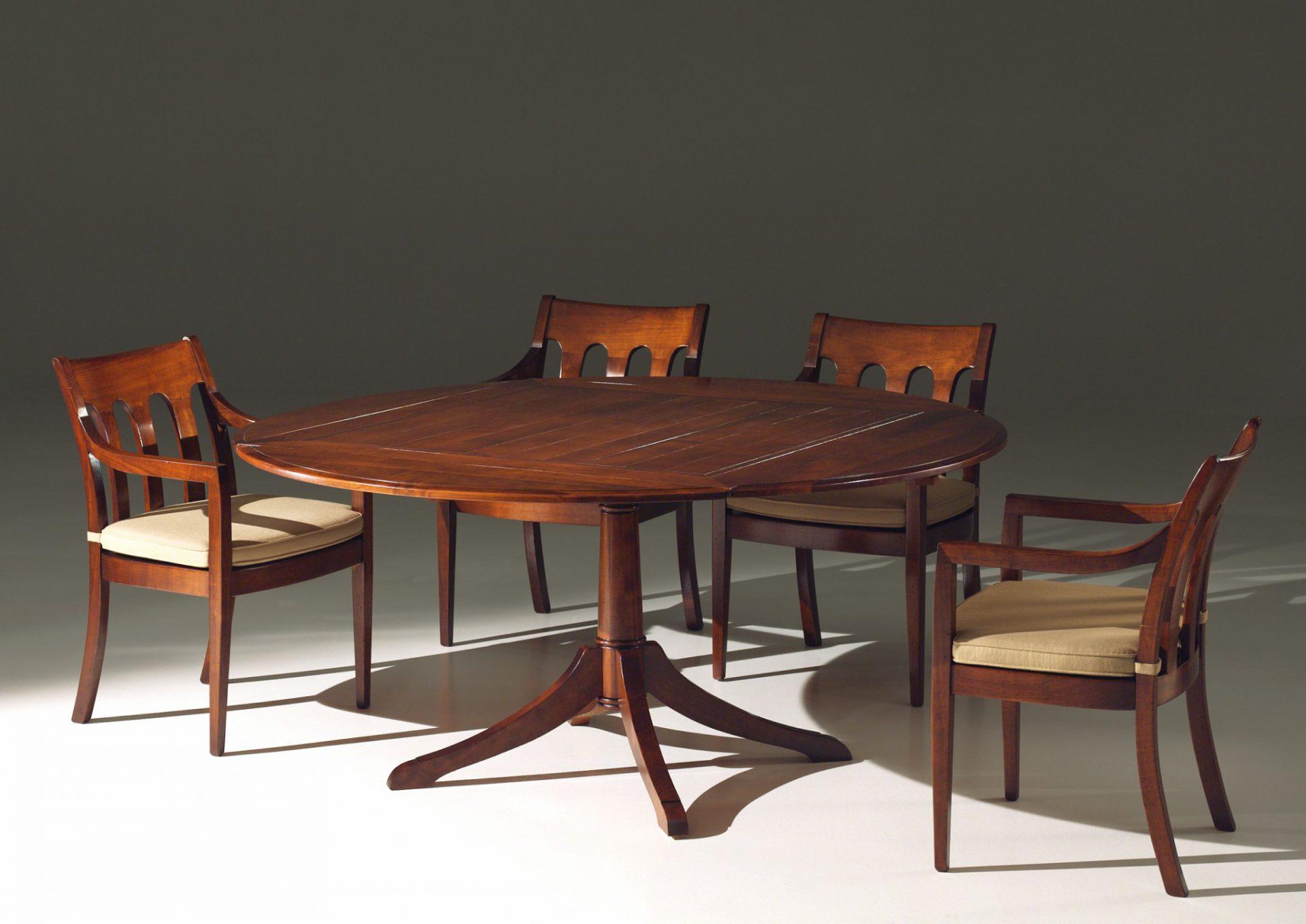 Kersenhouten tafel Bottom Afbeelding