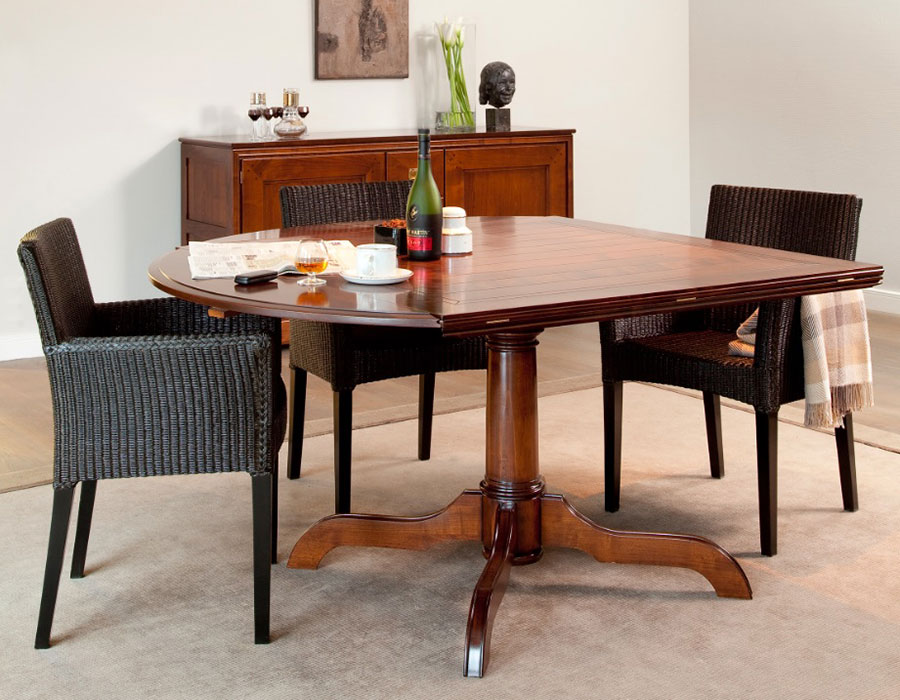 DeKoninck kersenhouten tafel | Hoogebeen Interieur