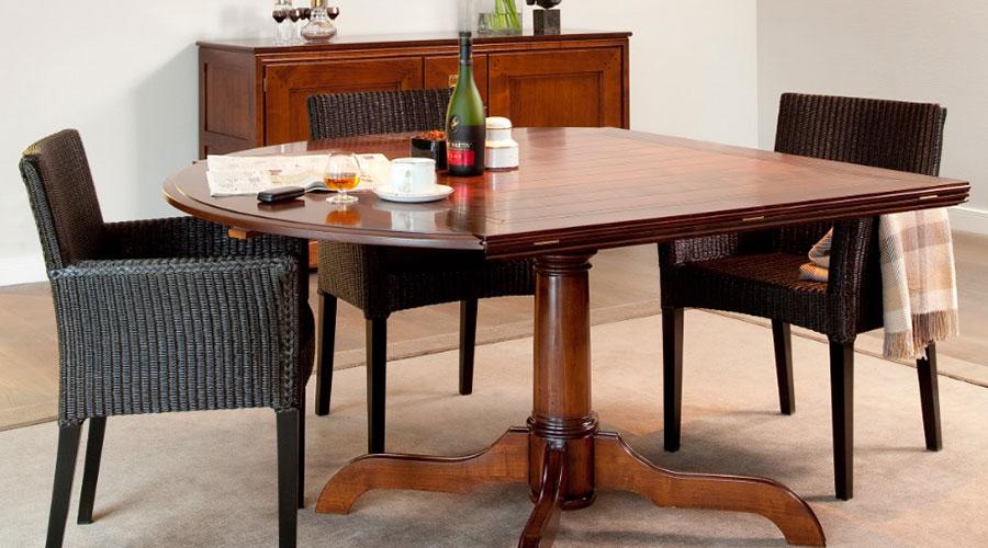 Kersenhouten tafel Top Afbeelding