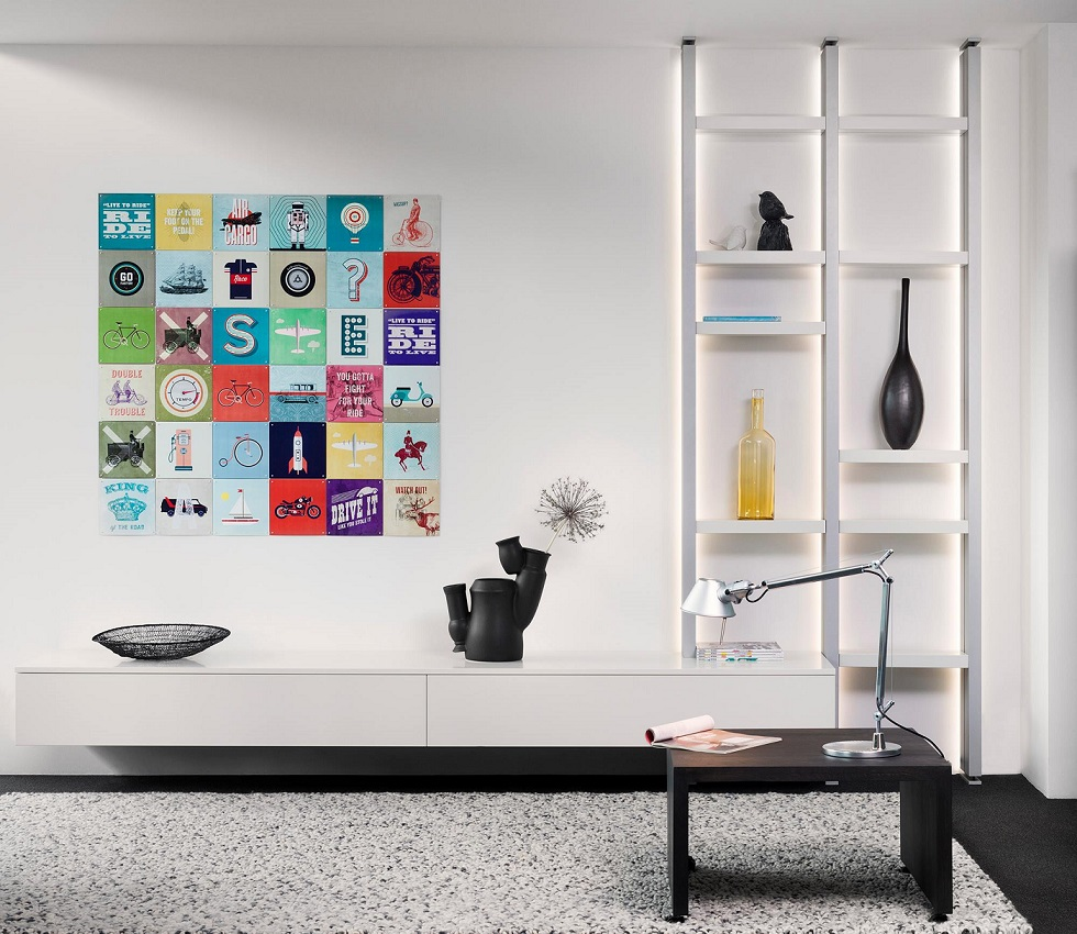 Interstar moderne boekenkast R 2025