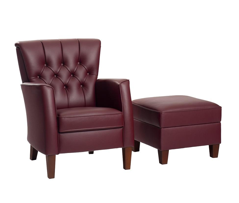 Vidato Rousset gecapitonneerde fauteuil