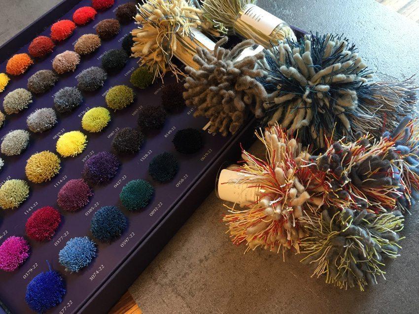 Millenerpoort wol kleuren