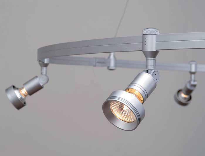 oligo verlichting systeem op rail