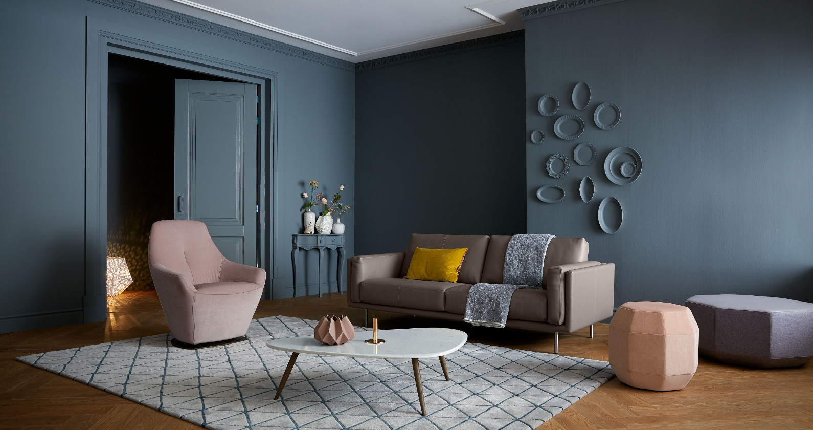 Leolux Bellice sofa in grey