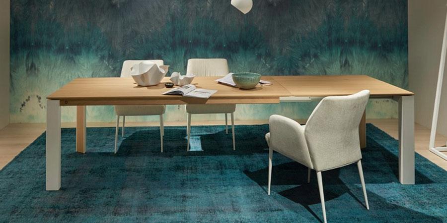 Moderne Uitschuifbare Eetkamertafels.Uitschuifbare Eettafel Ronde Eettafel Uitschuifbaar Hoogebeen