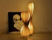 Vloerlampen beuken hout